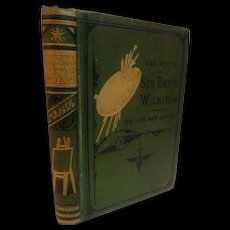 1879 The Story of Sir David Wilkie His Life And Works Painter Artist Biography Antique Victorian Book A.L. Simpson
