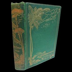 1869 Tales of Old Travel by Kingsley History Sea Land Adventures Indians Shipwreck Marco Polo Andrew Battel Capuchin Alvaro Nunez Antique Illustrated Book