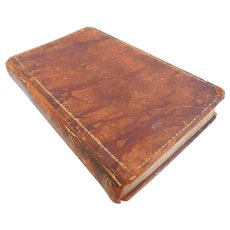 1828 The History of the King of Sweden Charles The Twelfth by Andrus Translated to English by Voltaire Great Northern War 1697-1718 Antique Leather Biography Book