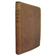 1866 Antique Victorian Book Illustrated A Faithful Sister Moral Character Building Children with Christian principles