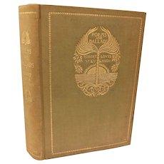 1896 Poems & Ballads by Robert Louis Stevenson Victorian Antique Book Poetry