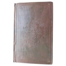 1860 The Money-King & Other Poems by John Saxe First Edition Antique Victorian Book Poetry