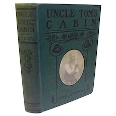 Victorian Uncle Tom's Cabin or Life Among the Lowly by Harriet Beecher Stowe Antique Book Slavery Slaves Abolition Negro Black Americana Plantation South