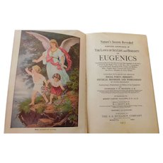 1915 Natures Secrets Revealed Scientific Knowledge of The Laws of Sex Life and Heredity Eugenics Ethics Medical Antique Book by Shannon