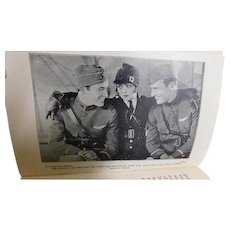 World War I 1929 WINGS Fighter Pilot Airplane Photoplay Movie Stills Photograph Book WW1 Clara Bow Buddy Rogers Richard Arlen Art Deco