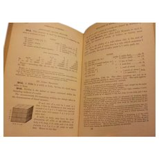 1875 Robinson's Mathematical Series Progressive Higher Arithmetic for schools academies and mercantile colleges Victorian Antique Illustrated Math Text Book