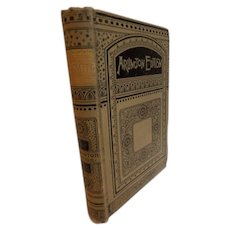 1880s The Poems and Plays of Oliver Goldsmith Victorian Antique Book with She Stoops to Conquer Poetry Prose