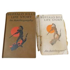 1924 An Autobiography of Buffalo Bill Colonel W.F. Cody Illustrated by N.C. Wyeth Book Vintage Personal Narrative Scout Fontier West