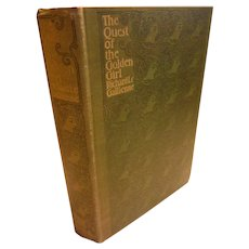 1897 The Quest of the Golden Girl ( A Wife) by Richard Le Gallienne A Romance Victorian Antique Book First English Edition