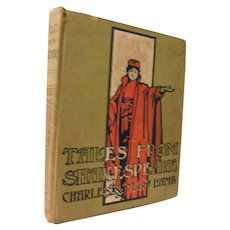 Victorian Tales From Shakespeare Charles & Mary Lamb Illustrated Book Romeo Juliet King Lear Othello MacBeth Hamlet Tempest