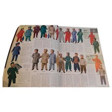 1951 Sears Roebuck And Co. Fall & Winter Catalogue Catalog Vintage Toys Clothing Linens Appliances Furniture Shoes 1368 Pages