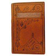 1874 Aesop's Little Fable Book William Nimmo England Victorian Antique Children's Book