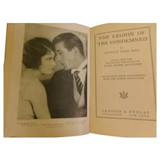 1928 The Legion of the Condemned by Eustace Hall Ball Paramount Photoplay Movie Still Photo Book WWI Flyer Gary Cooper Fay Wray Silent Movie World War I