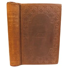 1853 People I Have Met or Picture of Society &People of Mark Drawn Under A Thin Veil of Fiction N.P Willis Antique Victorian Satire Wit Sketches of Aristocracy & the Wealthy Book