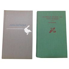 Vintage Bird Field Guides National Audubon Sponsored Books Audubon & Peterson's Ornithology Illustrated Habitat Descriptions Range Voice
