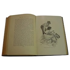 1910 Son of the Wind Lucia Chamberlain Antique Illustrated Western Romance Book Edwardian