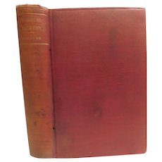 The Life and Adventures of Nicholas Nickleby by Charles Dickens Antique Victorian England Book