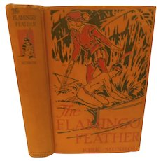 The Flamingo Feather by Kirk Munroe Florida 1560s French & Spanish Indians Battles Historical Fiction Book Antique Victorian