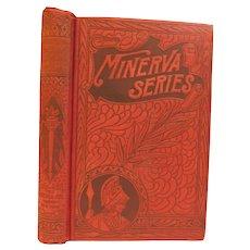 1891 A Ruby Beyond Price by Sir Gilbert Campbell Suspense Murder Revenge Dime Novel Victorian Antique Minerva Series Fine Binding