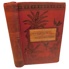 1893 Speeches From the Dock and Scaffold or Protests of Irish Patriotism After Conviction Plus The Manchester Tragedy & Cruise of the Jackmel Illustrated VIctorian Antique Book Ireland