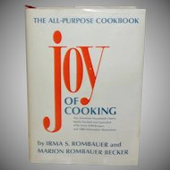 Joy Of Cooking  by Irma S. Rombauer and Marion Rombauer Becker c. 1985