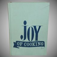 Joy of Cooking by Irma S. Rombauer and Marion Rombauer Becker c.1973