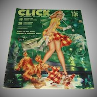 Vintage Click Magazine - April 1941