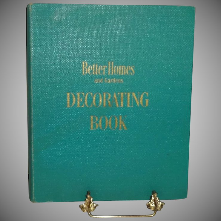Better Homes and Gardens Decorating Book First Edition c. 1956 ...