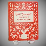 FIRST Edition/FIRST Printing Betty Crocker's Picture Cook Book (Binder)