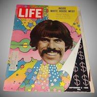 Life Magazine- Inside White House West/Peter Max -September 5, 1969