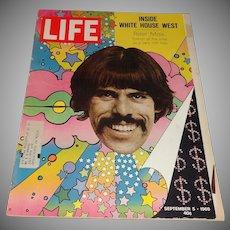 Life Magazine- Inside White House West/Peter Max -September 5, 1969