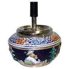 Vintage West German Spinner Ashtray Original The Walt