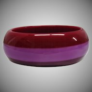 Vintage Laminated Lucite Bangle Bracelet