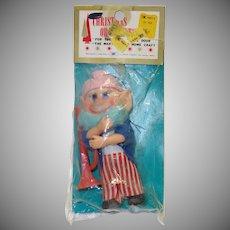 Vintage Hillbilly/Musician Elf in Original Package