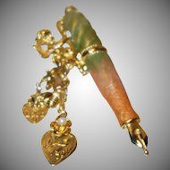 Vintage Kirk's Folly Cupid Pin
