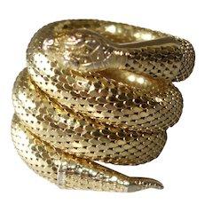 Forstner Gold Filled Coil Wrap Snake Bracelet Ann