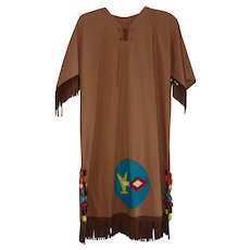 Vintage Camp Fire Girls Ceremonial Gown