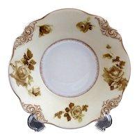 Antique porcelain serving bowl Old Ivory #84 Hermann Ohme