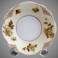 Antique porcelain serving bowl Old Ivory #84 Hermann Ohme