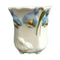 German porcelain toothpick holder tulip mold