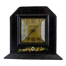 Vintage New Haven alarm clock Nifty c. 1940