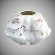 R.S. Prussia porcelain hair receiver c. 1890s