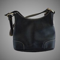 Nine West leather purse embossed front