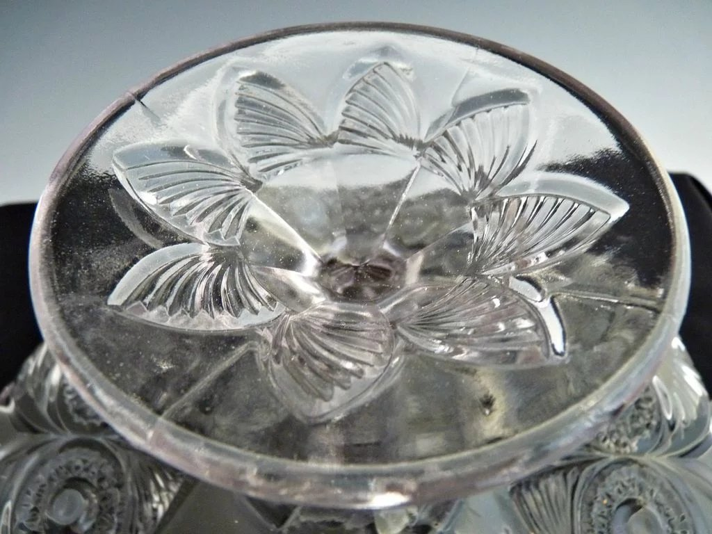 Eapg Glass Cake Stand