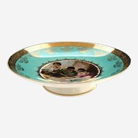 Rosenthal Bavaria cake stand Melon Eaters after Koch