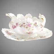 Victorian porcelain mayonnaise server Hapsburg Austria