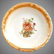 Antique porcelain serving bowl Francis c. 1890s