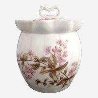 Marx Gutherz porcelain biscuit jar Austria c. 1880s