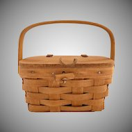 Longaberger basket purse childs swing handle