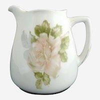 Silesia porcelain creamer roses Hermann Ohme